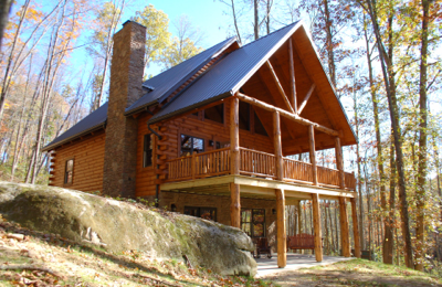 our cabin in ohio is a luxury log cabin rental located